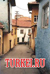 Старая улочка Анкары