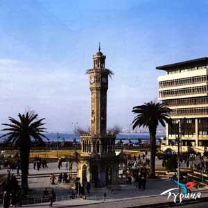 Башня с часами (Саат Кулеси). Измир