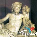 Бог рек - Нептун. Археологический музей. Измир
