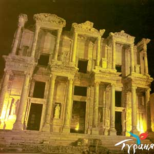 Библиотека Джельсуса. Эфес, Измир.