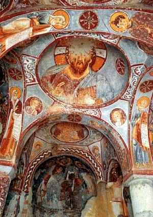 Музей под открытым небом в Гёреме. Церковь Эльмалы (Яблоневая).