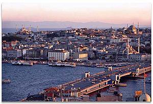 Вид Стамбула